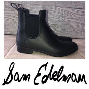 Sam Edelman   Black Matte Tinsley Rain Boot (Sz 9)